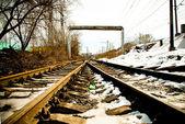 Railways — Stok fotoğraf
