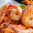 Bake shrimp — Stock Photo