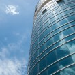 Building and sky — Stock Photo