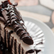 Crepe cake chocolate — ストック写真