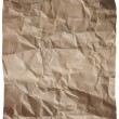 Sepia paper with wrinkles — Stock Photo