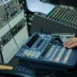 Vision mixing panel — Stock Photo
