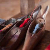 Katoenen draad — Stockfoto