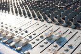 Mikser dźwięku — Zdjęcie stockowe