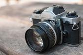 Retro camera — Stok fotoğraf