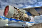Straalvliegtuig — Stockfoto