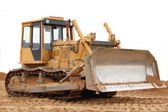 Caterpillar tractor — Foto de Stock