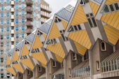 Cube houses in Rotterdam — Stock Photo