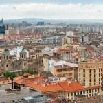 Постер, плакат: Aerial view of Zaragoza