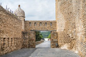 Old city in Spain Morella — Stock Photo