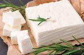Delicious Greek feta cheese — Stock Photo