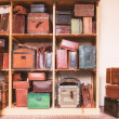 Old suitcases — Stock Photo