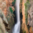 "Waterfall at the ""monasterio de piedra"", Zaragoza, Spain — Foto Stock"