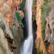 "Waterfall at the ""monasterio de piedra"", Zaragoza, Spain — Stockfoto"