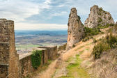 Medieval castle of Loarre,Aragon, Spain — Stock Photo