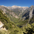 Samaria Gorge, Crete — Stock Photo