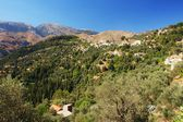Mountain village, Crete — Stock fotografie