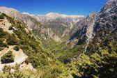 Samaria Gorge, Crete — Stock Photo