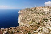 Cliffs in Malta — Stock Photo