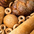 Fresh bread still life — Stock Photo