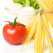 Pasta ingredients — Stockfoto