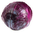 Red cabbage isolated — Stock Photo
