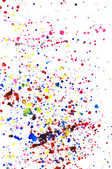 Colorful watercolor splashes — Stock Photo