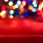Bright christmas background — Stock Photo