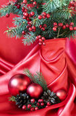 Beautiful christmas still-life — Stok fotoğraf