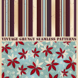 Vintage grungy patterns — Stock Vector