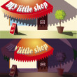 Постер, плакат: My little shop