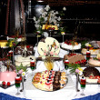 Stock Photo: Cake Table