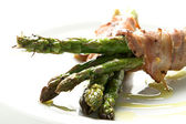 Asparagus starter — Stock Photo
