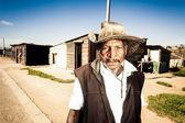 Agricoltore pensionato — Foto Stock