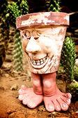 Smiling pot — Stock Photo