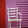 White chair — Stock fotografie