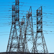 Electrical towers — Stock Photo #26361869
