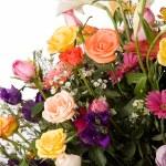 Colorful bouquet — Stock Photo
