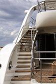 游艇楼梯 — 图库照片