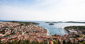 Croatia from above — Stock Photo