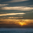 Stock Photo: Ocesunset