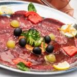 Salami plate — Stock Photo #26934845