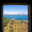 Stock Photo: Window view