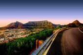 Table Mountain Road — Stock Photo