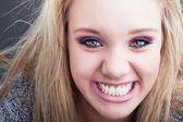 Sonrisa colgate — Foto de Stock