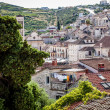 Rooftops of an old historic town — Stock Photo