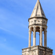 Stock Photo: Old stone church tower