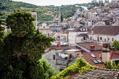 Rooftops of an old historic town — ストック写真
