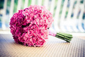 Bridal pink bouquet — Stock Photo