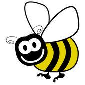 Bumble bee vector. — Stock Vector